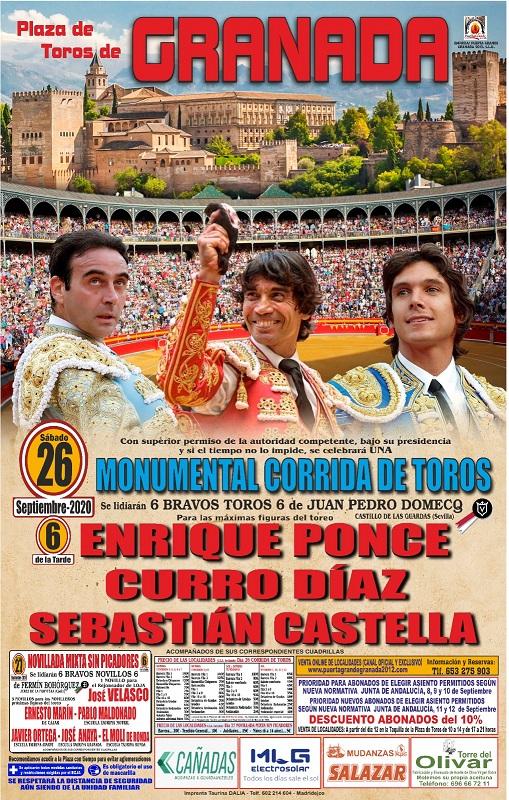 cartel corrida todos Granada