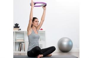 Aro de pilates de resistencia + guía de ejercicios InnovaGoods Sport Fitness