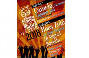 Entradas Alhama Festival de música días 3 y 4 de agosto