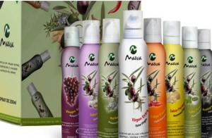 8 Spray Gourmets de Aceites Maeva