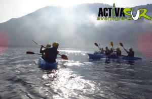Ruta en kayak + snorkel para 2