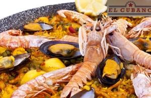 Entrantes + Paella + postres + bebidas para 2 en Aguadulce