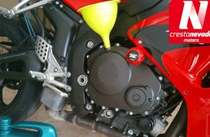 Cambio de aceite y filtro para moto