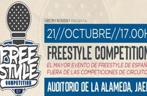 Freestyle Competition con Ocer y Rade, 21 oct en Jaén