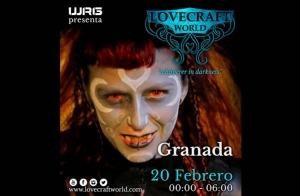 Lovecraft World en Granada el 20 de Febrero