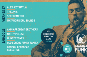 Entradas Imagina Funk, 27 y 28 julio en Torres (Jaén)