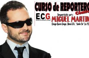 Curso de reportero cómico, con Miguel Martín