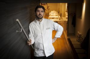 Granada Gourmet 2018 Menú mano a mano dos Estellas Michelín