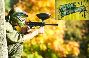 4 Partidas de Paintball + Reportaje de fotos