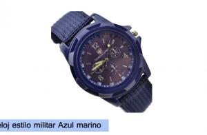 Reloj estilo militar