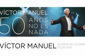 Entradas para Victor Manuel. Gira '50 años no es nada'